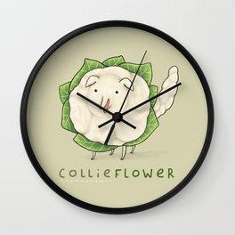 Collieflower Wall Clock