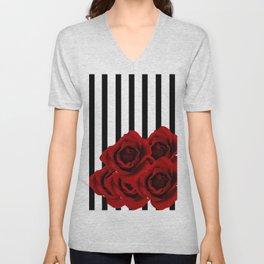 Prohibited roses Unisex V-Neck