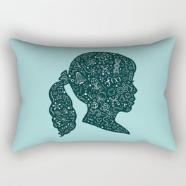 In a Science State of Mind Rectangular Pillow