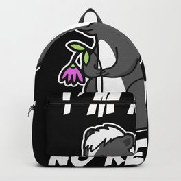Funny Valentine's Day gift cute skunk Backpack