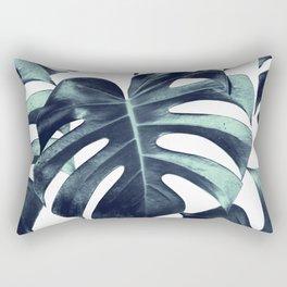 Tropical Monstera Leaves Dream #6 #tropical #decor #art #society6 Rectangular Pillow