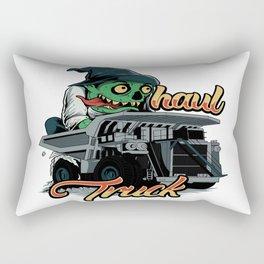 Monster Haul Truck Rectangular Pillow