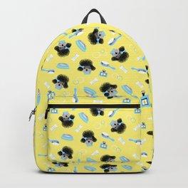Pampered Poodle Pattern Backpack