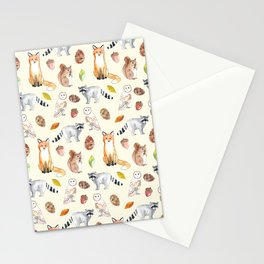 Woodland Critters Stationery Cards