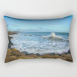 Crashing Waves Rectangular Pillow