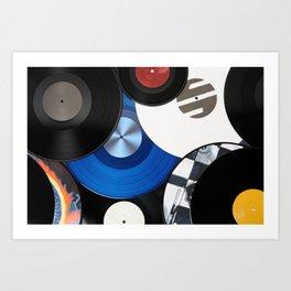 Vinyls Kunstdrucke