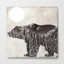 Going Wild Bear Metal Print