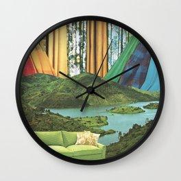 Outdoor Living Wall Clock