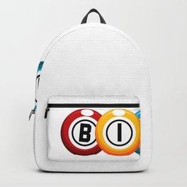 What Happens At Bingo Stays At Bingo  Funny Lucky Bingo T-Shirt Backpack