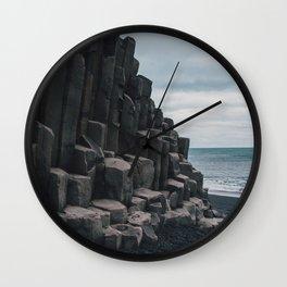 Reynisfjara, Iceland Wall Clock