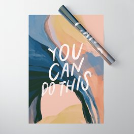 You Can Do This! Wrapping Paper