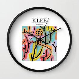 Klee - Park bei Lu Wall Clock