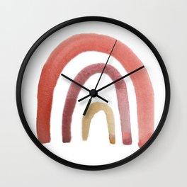 Fruit Punch Rainbow Wall Clock