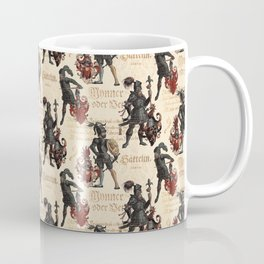 Medieval Knights in Shining Armor Coffee Mug
