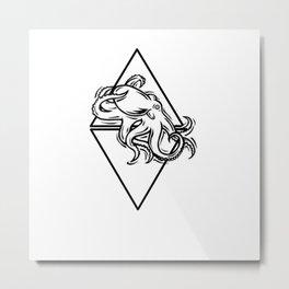 Octopus Artwork  Metal Print