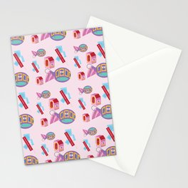 Valley Motel: Candy Hearts Stationery Cards