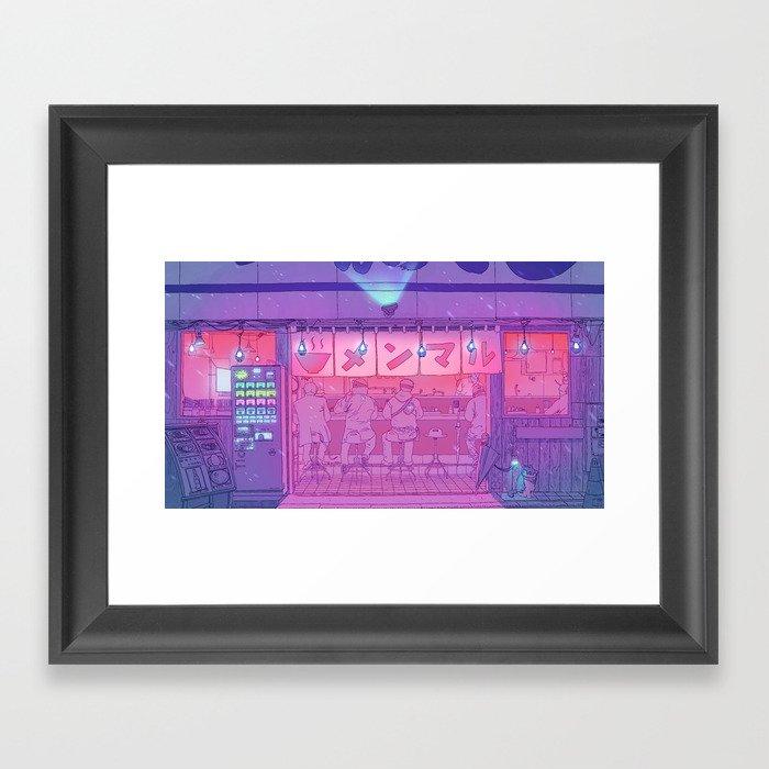 Ramen Shop Gerahmter Kunstdruck