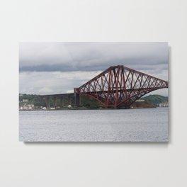 Forth Bridge Metal Print