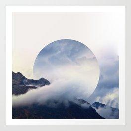 Daydreaming. Art Print