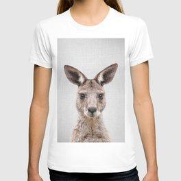 Kangaroo 2 - Colorful T-shirt
