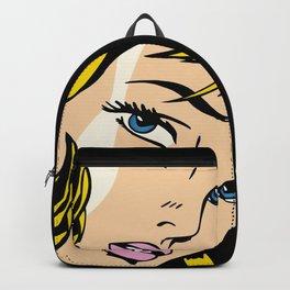 A vectorized Lichtenstein Backpack