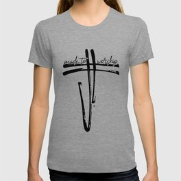 Made To Worship Christianity Cross Religion T-shirt