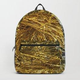 Bling! Glitter Gold & Silver Sparkle Tinsel Garlands Backpack