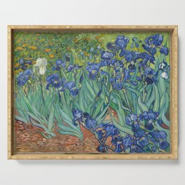 Vincent van Gogh - Irises Serving Tray