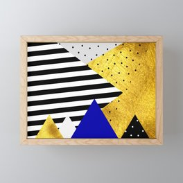 fall abstraction #3 Framed Mini Art Print