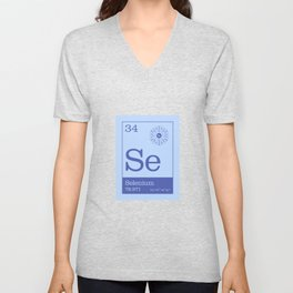 Periodic Elements - 34 Selenium (Se) Unisex V-Neck