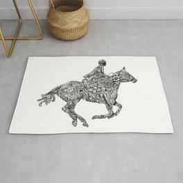 Horse Rider Rug