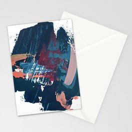 Pacific Northwest: a pretty minimal abstract piece by Alyssa Hamilton Art Stationery Cards