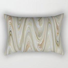 Zigzag Off Whites Rectangular Pillow