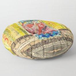 Sangria mason Jar Floor Pillow