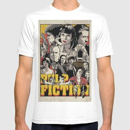 Pulp Fiction Movie Poster - Quentin Tarantino T-shirt