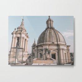 Piazza Metal Print