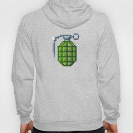 8-Bit Hand Grenade Hoody