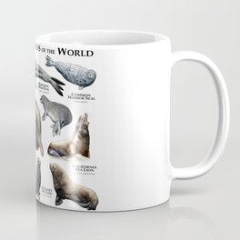 Seals and Seal Lions of the World Coffee Mug