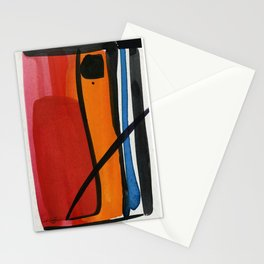Minimalist Abstraction No. 7 by Kathy Morton Stanion Stationery Cards