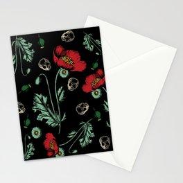 Poison Garden: Papaver somniferum Stationery Cards