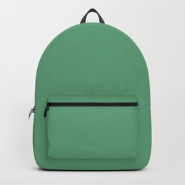 Monotonous, light green, turquoise Backpack