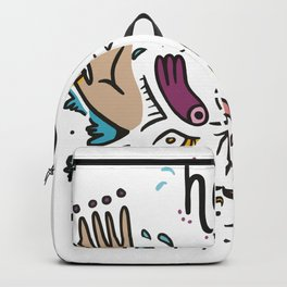 Heal with kindness Backpack