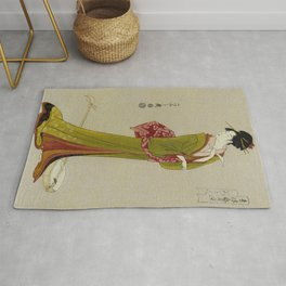 Itsutomi - Vintage Japanese Woodblock Rug
