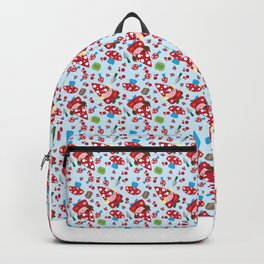 Gnome It All Mushroom Gardens Backpack