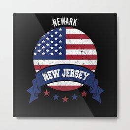 Newark New Jersey Metal Print