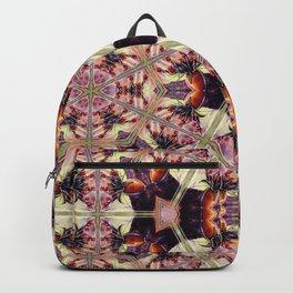 Morning Rose Kaleidoscope Photographic Pattern #1 Backpack