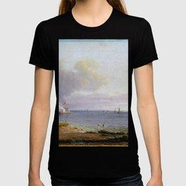 Johan Christian Dahl View over Øresund T-shirt