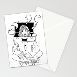 Overworked Stationery Cards
