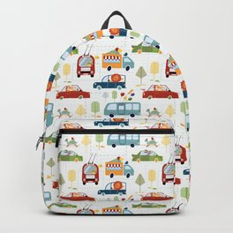 Traffic pattern Backpack