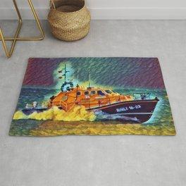 Lifeboat Lifeline In Slumber Rug
